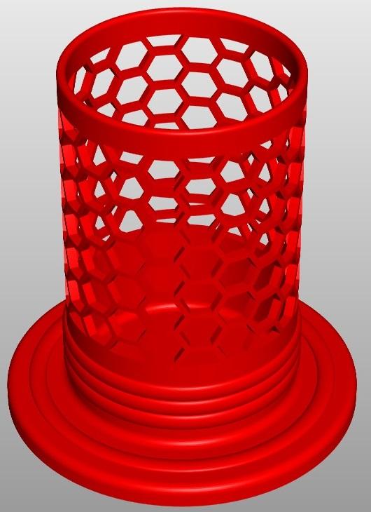 pencilbox hexa a3 3d model 267462