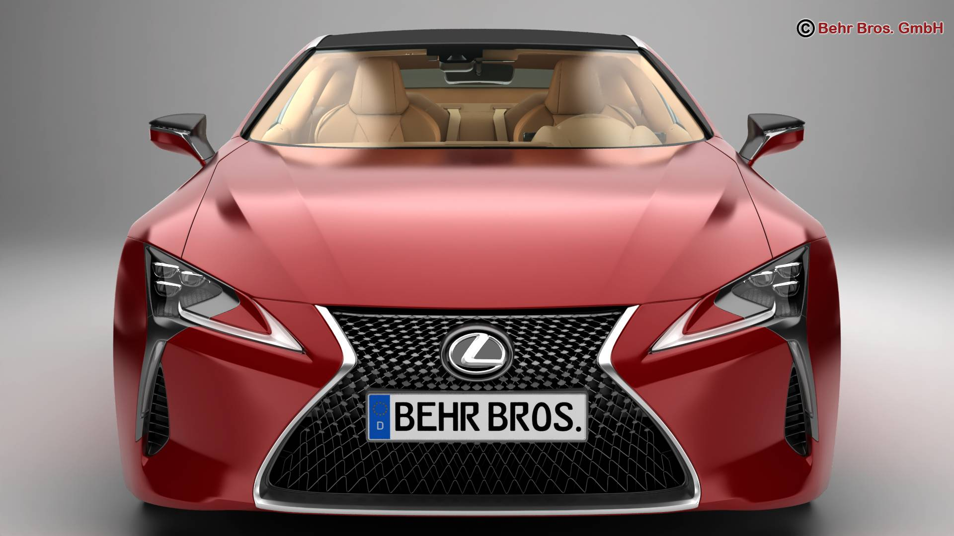 lexus lc 500 eu hybrid 2018 3d model 3ds max fbx c4d lwo ma mb obj 267481