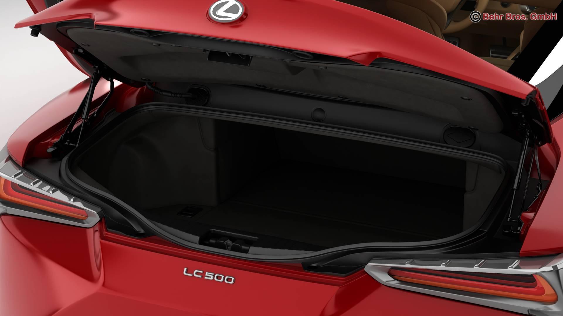 lexus lc 500 eu hybrid 2018 3d model 3ds max fbx c4d lwo ma mb obj 267487