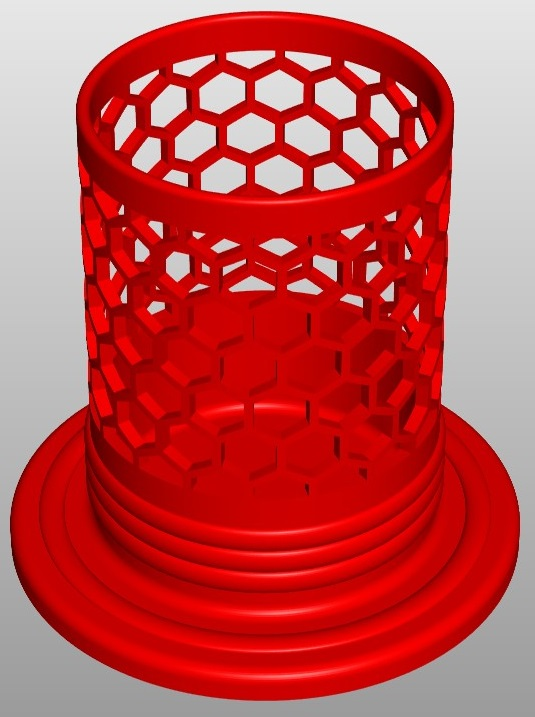 pencilbox hexa b3 3d model 267679