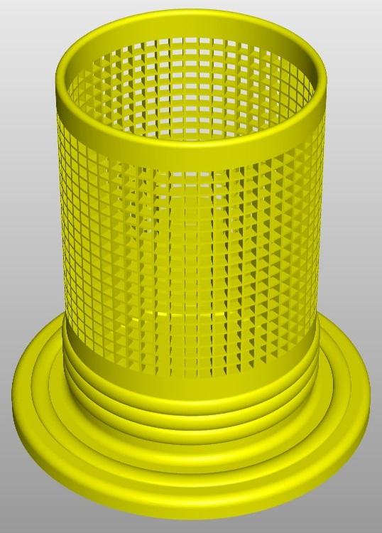 pencilbox square a0 3d model 267680
