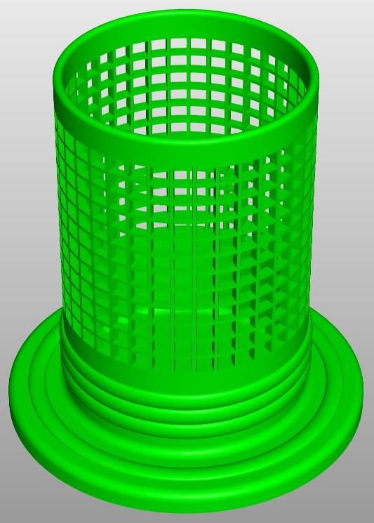 pencilbox square a1 3d model 267681