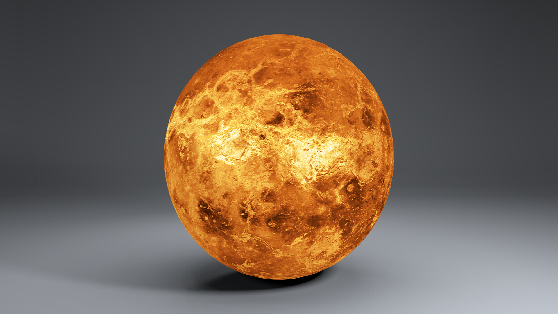 venus globe 8k 3d model 3ds fbx blend dae obj 267715