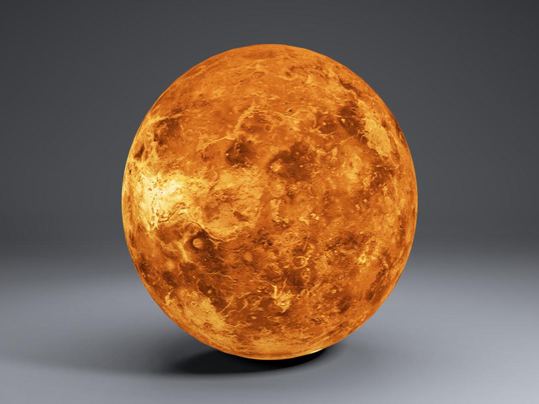 Venus Globe 8k 3d model 0