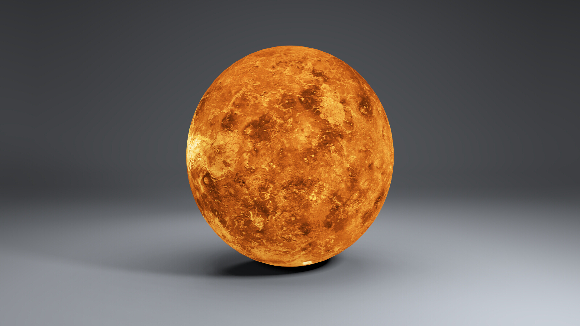 venus globe 8k 3d model 3ds fbx blend dae obj 267719