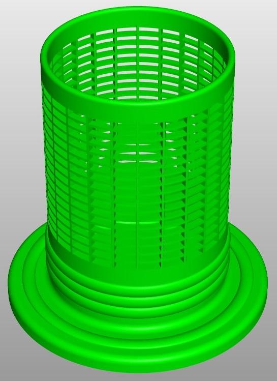 PencilBox Rectangle A5 1 3d model  267792