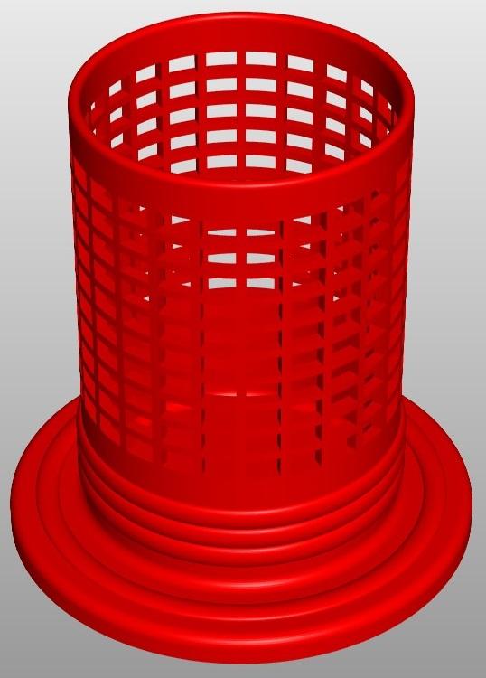 PencilBox Rectangle A5 3 3d model  267794