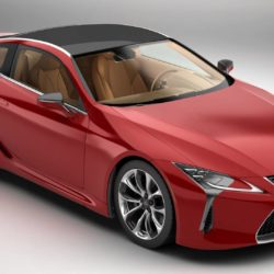 Lexus LC 500 US 2018 3d model 0
