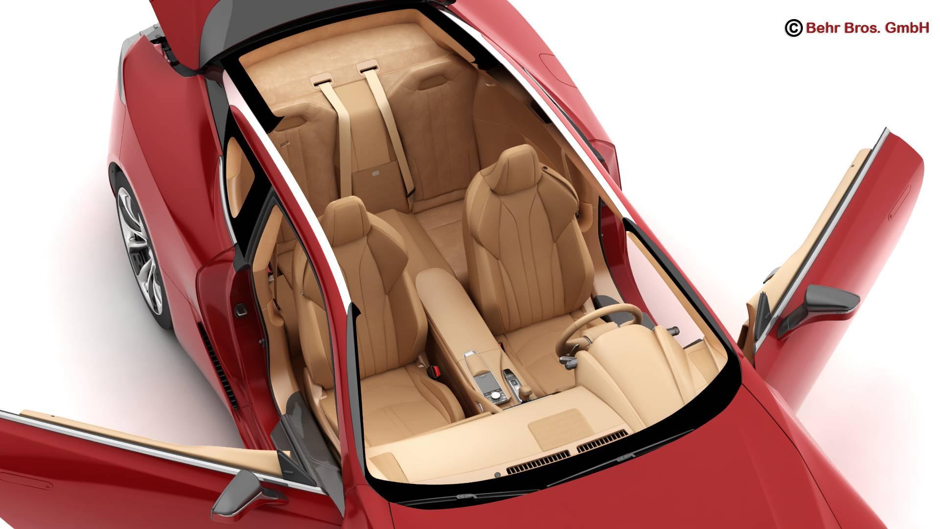 lexus lc 500 us hybrid 2018 3d model 3ds max fbx c4d lwo ma mb obj 267935