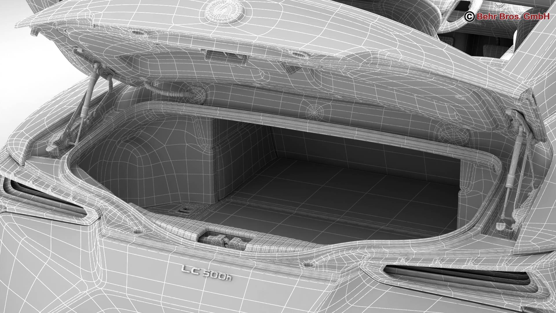 lexus lc 500 us hybrid 2018 3d model 3ds max fbx c4d lwo ma mb obj 267957