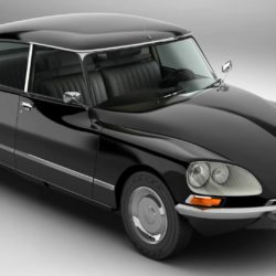 Citroen DS 23 Pallas 3d model 0