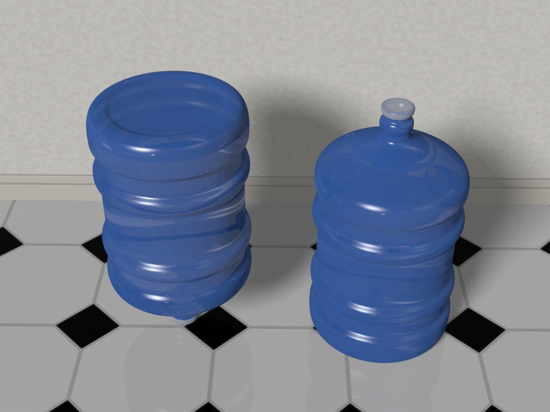 water bottle 5 gallons 3d model max fbx c4d jpeg jpg lxo  obj 268046