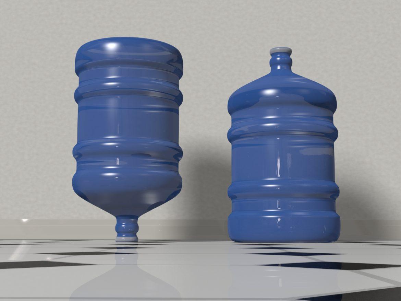 water bottle 5 gallons 3d model max fbx c4d jpeg jpg lxo  obj 268047