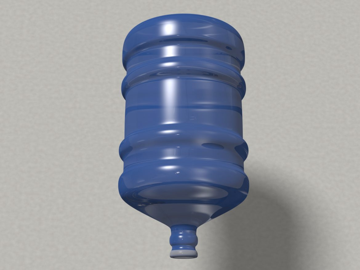 water bottle 5 gallons 3d model max fbx c4d jpeg jpg lxo  obj 268050