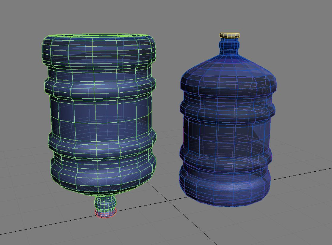 water bottle 5 gallons 3d model max fbx c4d jpeg jpg lxo  obj 268052