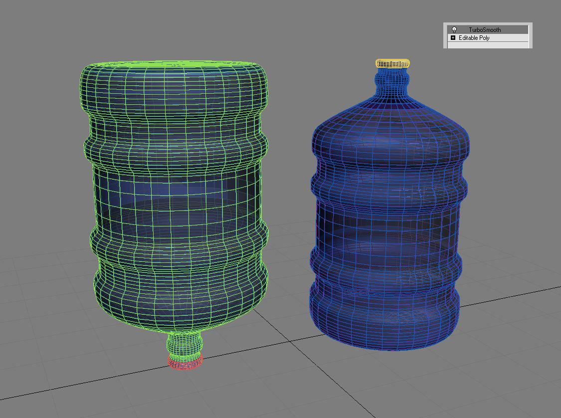 water bottle 5 gallons 3d model max fbx c4d jpeg jpg lxo  obj 268053