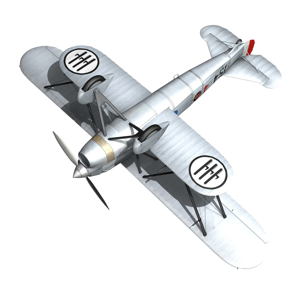 fiat cr.32 – italy airforce – 154 squadriglia 3d model fbx c4d lwo obj 268146