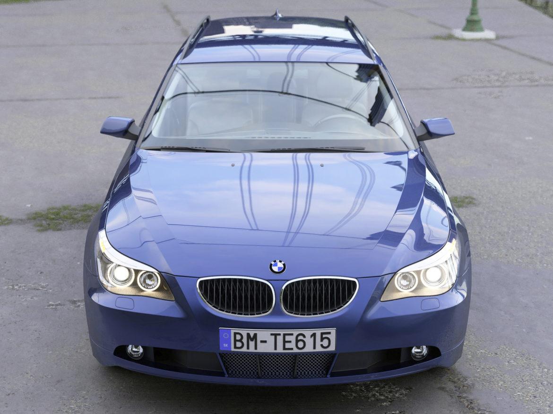 bmw e61 5 series touring 2006 3d model 3ds max fbx c4d obj 268158