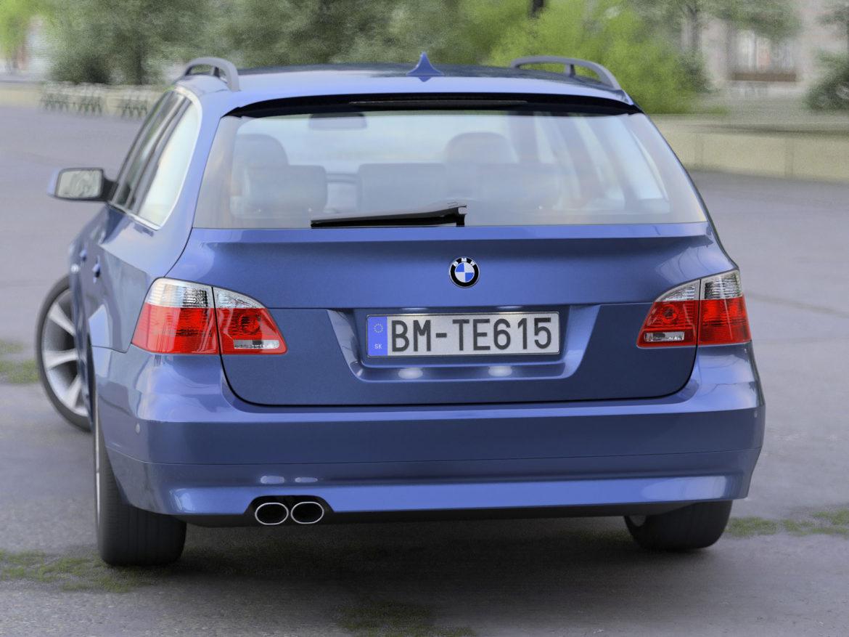bmw e61 5 series touring 2006 3d model 3ds max fbx c4d obj 268160