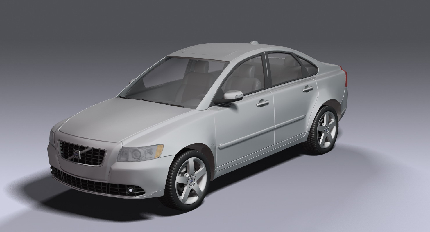 volvo s40 t5 awd 3d model buy volvo s40 t5 awd 3d model flatpyramid. Black Bedroom Furniture Sets. Home Design Ideas