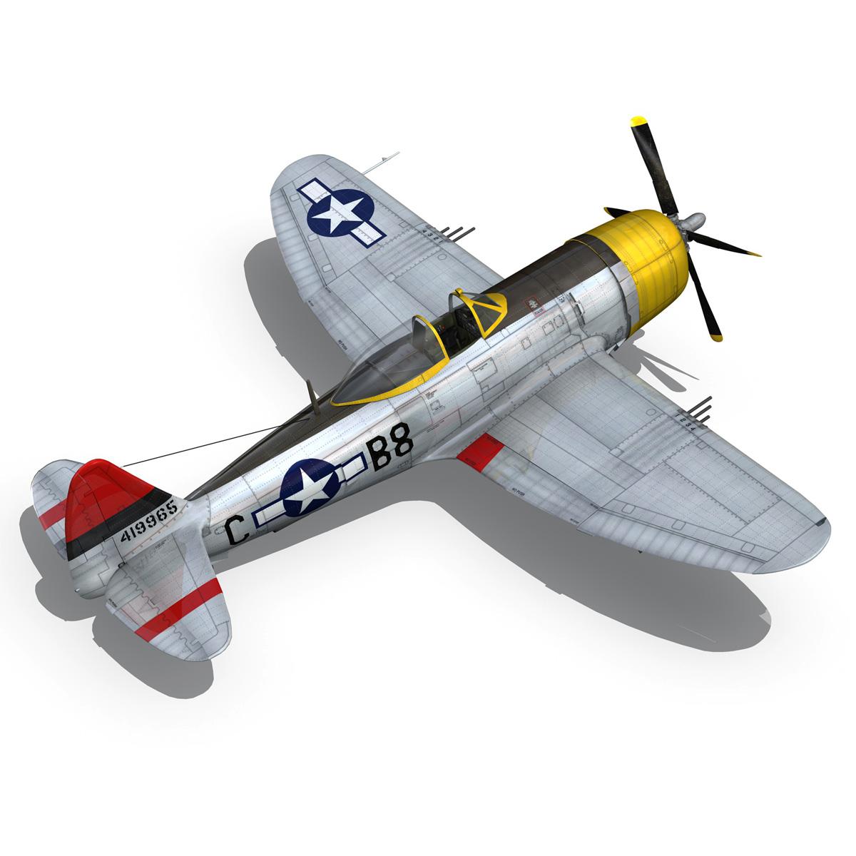 republic p-47d thunderbolt – chief seattle 3d model fbx c4d lwo obj 268212