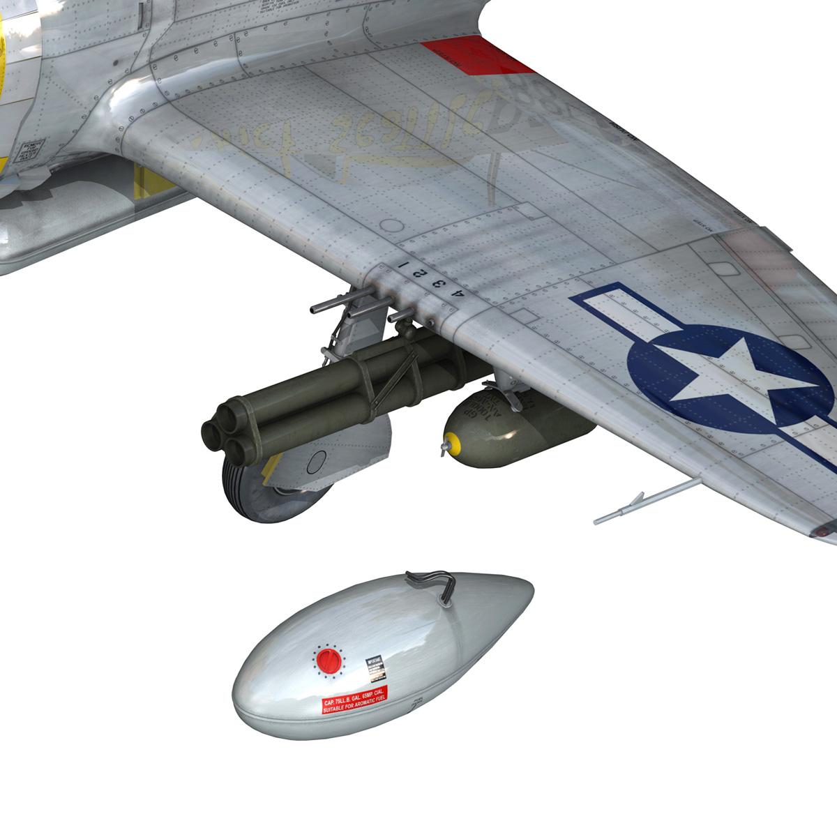 republic p-47d thunderbolt – chief seattle 3d model fbx c4d lwo obj 268216