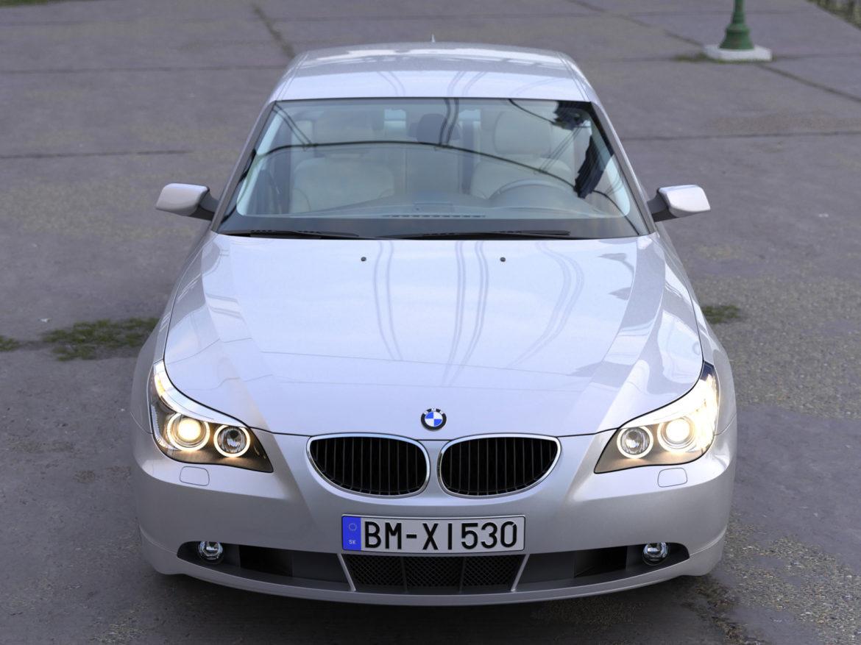 BMW 5 Series Sedan 2006 3d model render ready 3ds max fbx c4d obj