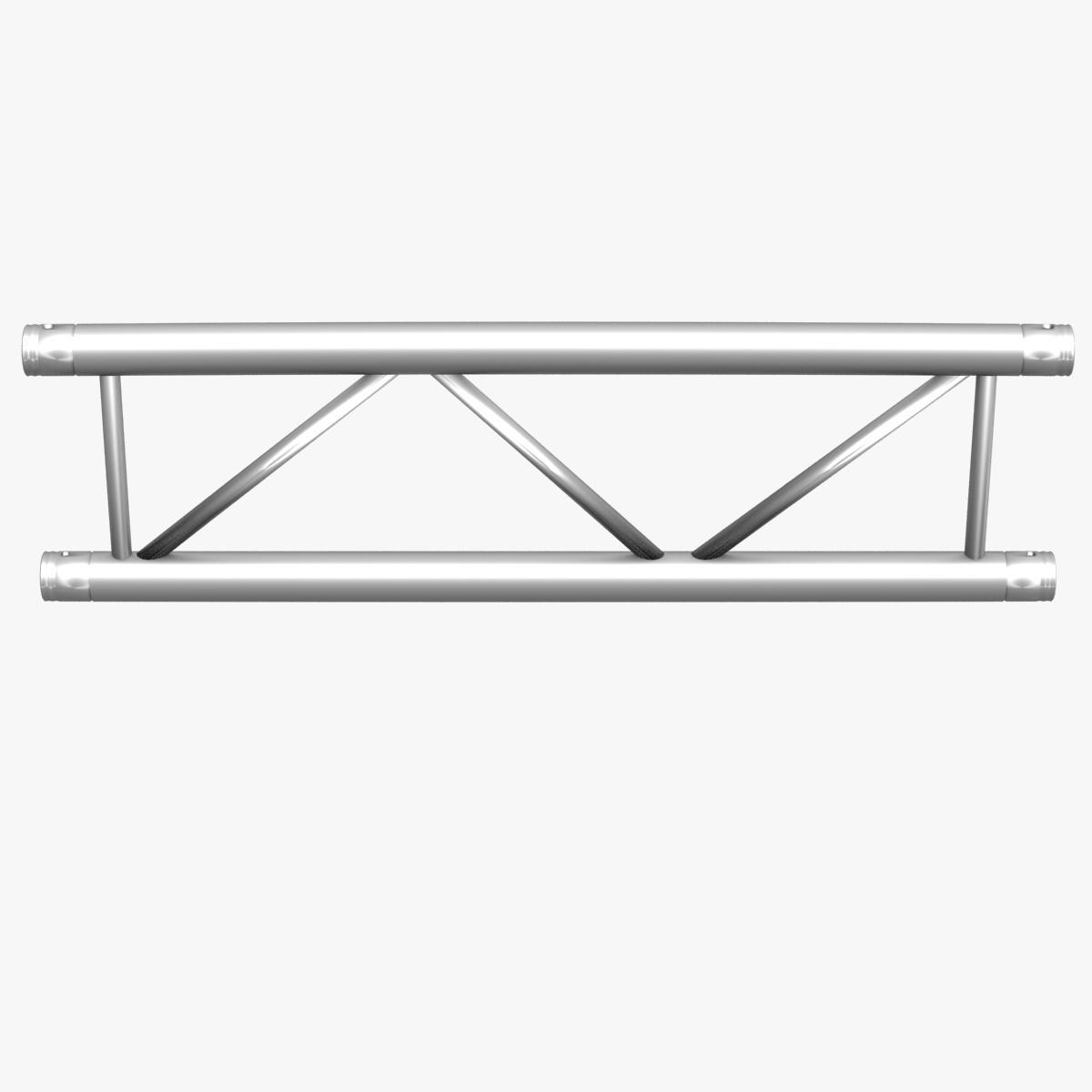 square triangular beam collection 170 modular 3d model