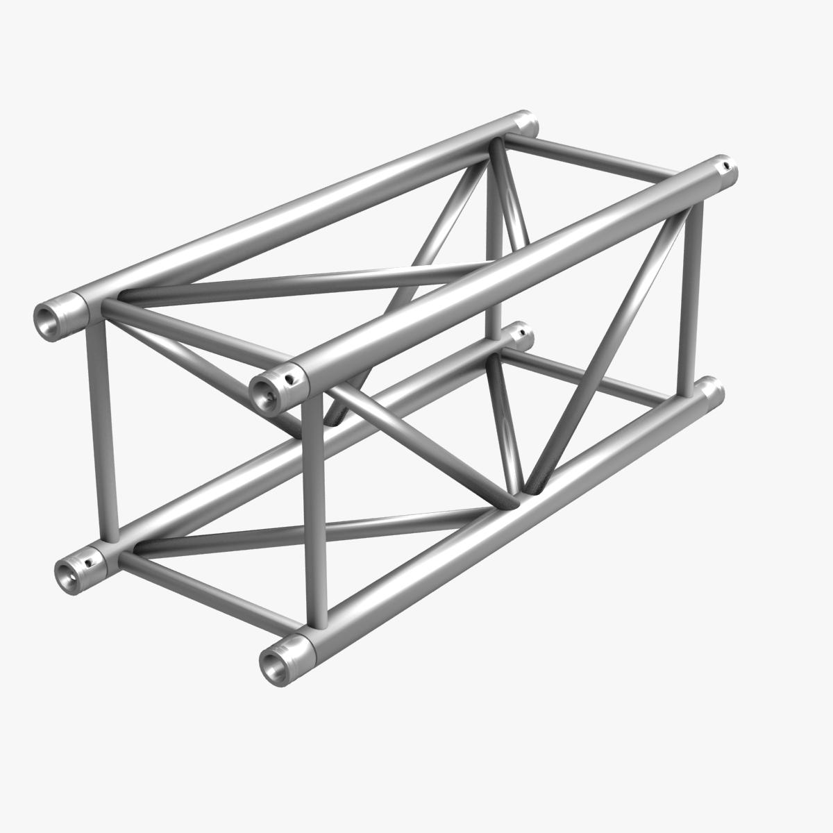 Big square truss collection 10 modular pieces 3d model for Buy truss