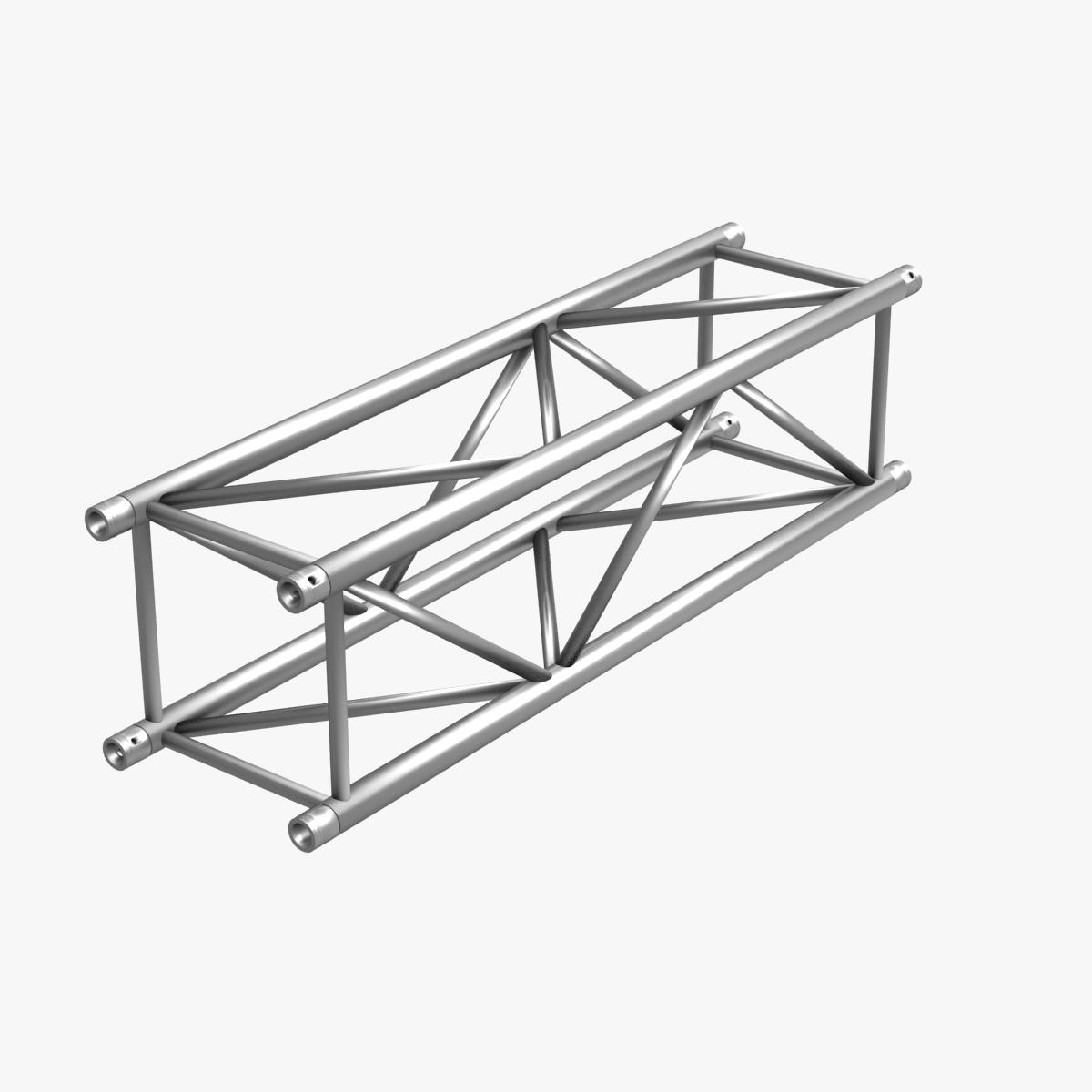 big square truss (collection 10 modular pieces) 3d model 3ds dxf fbx c4d dae  268548
