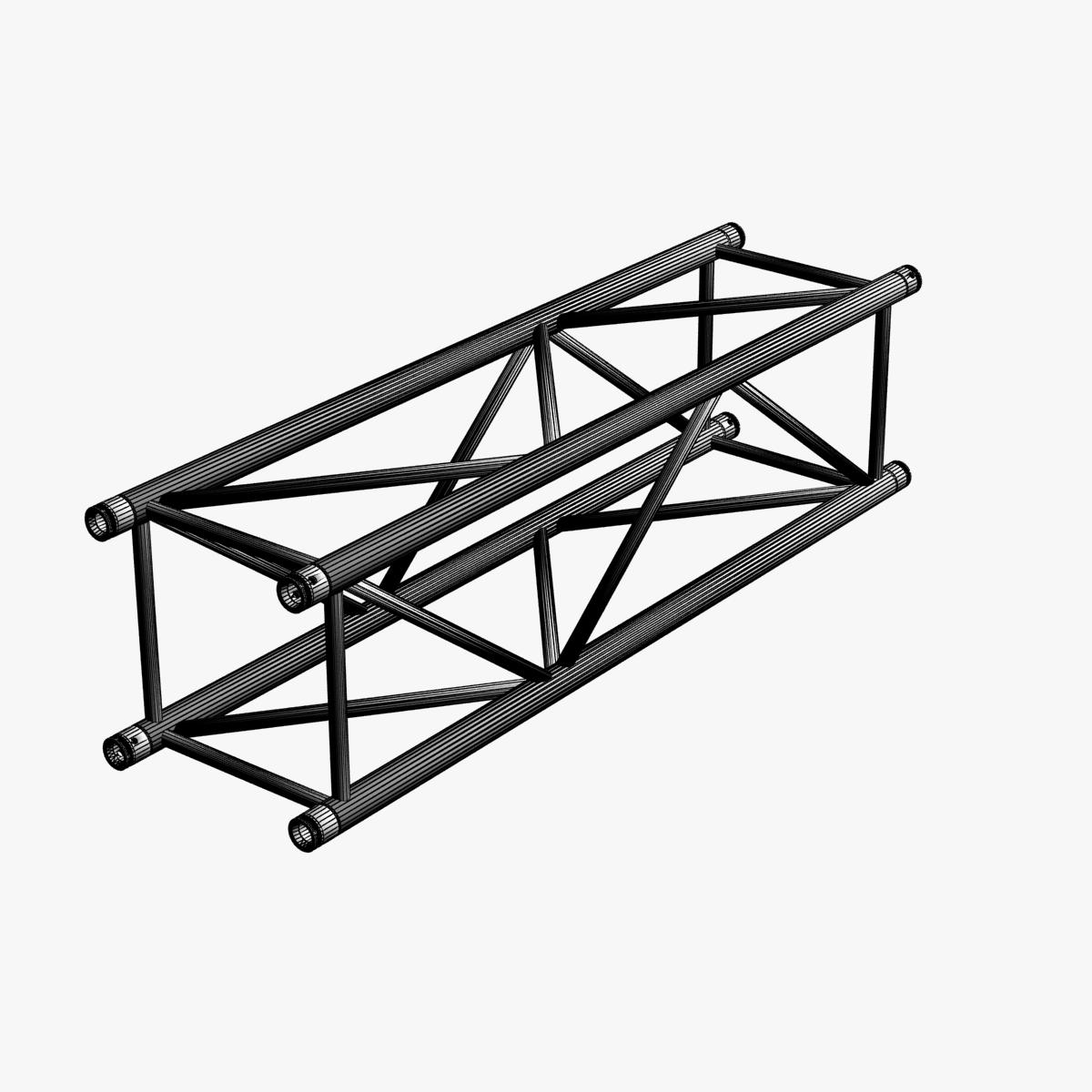 big square truss (collection 10 modular pieces) 3d model 3ds dxf fbx c4d dae  268549