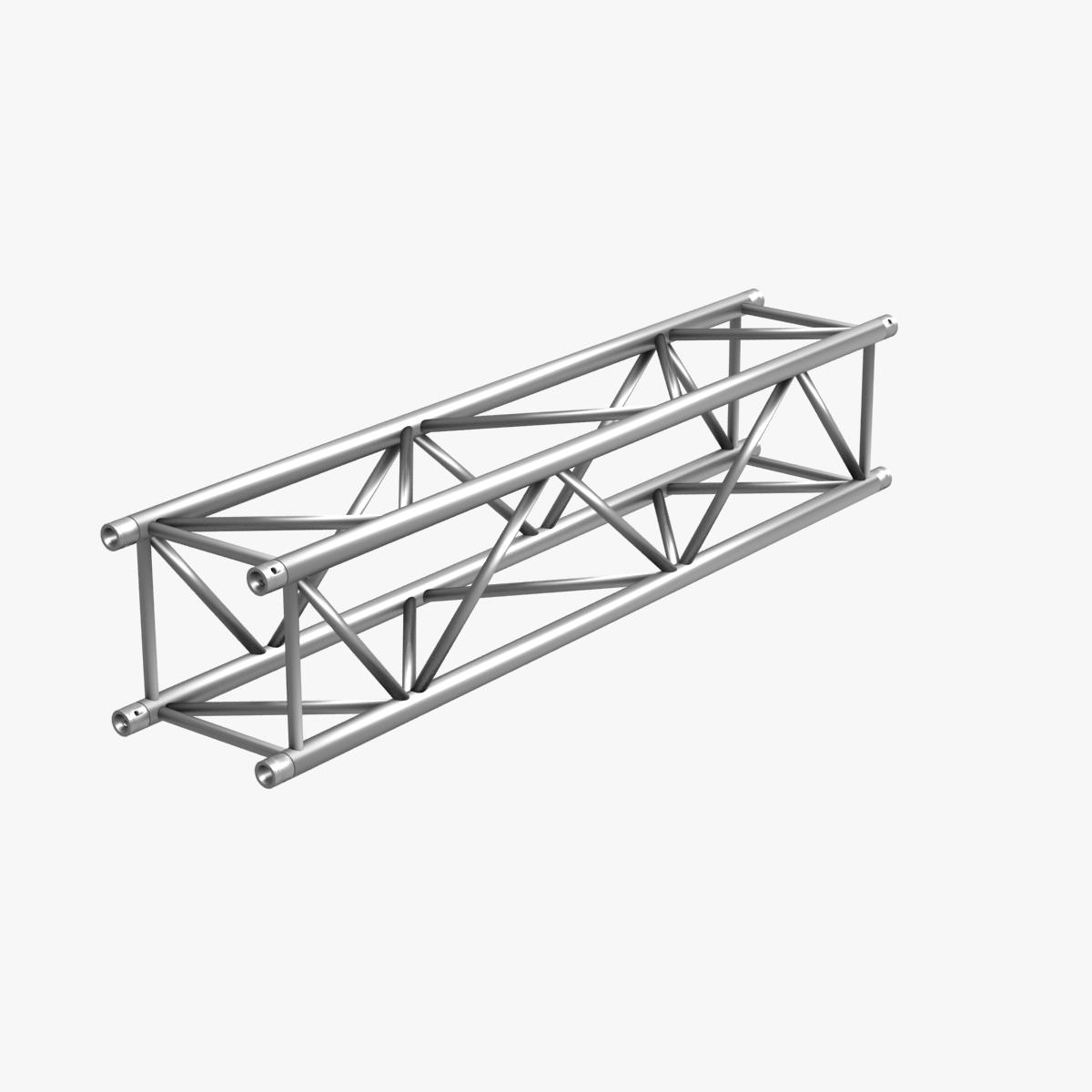 big square truss (collection 10 modular pieces) 3d model 3ds dxf fbx c4d dae  268550