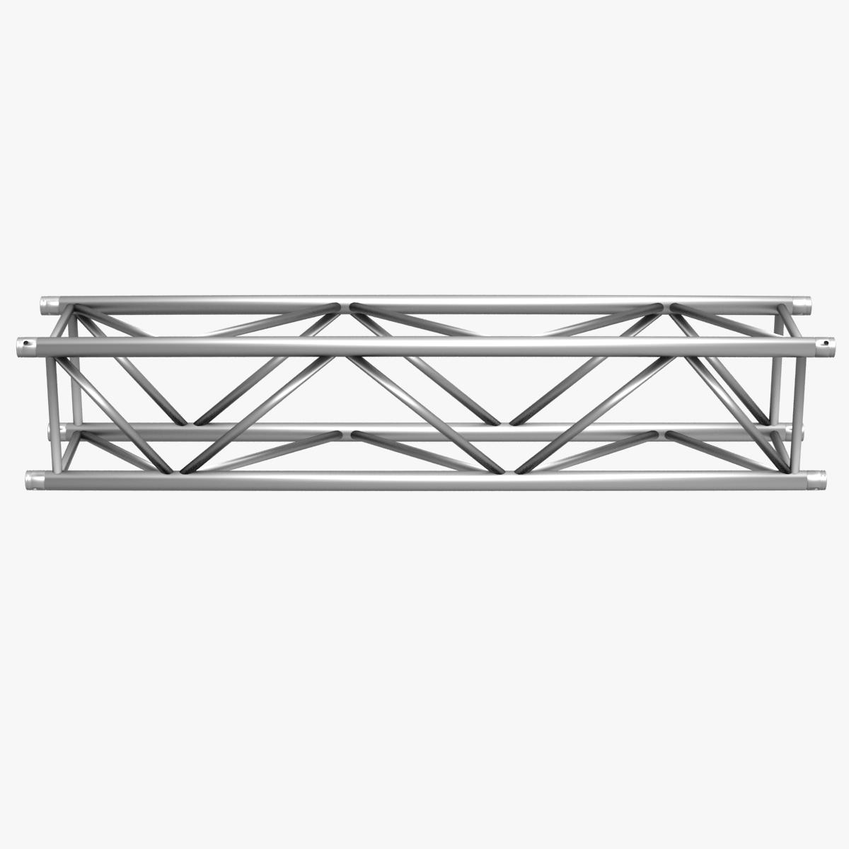 big square truss (collection 10 modular pieces) 3d model 3ds dxf fbx c4d dae  268551