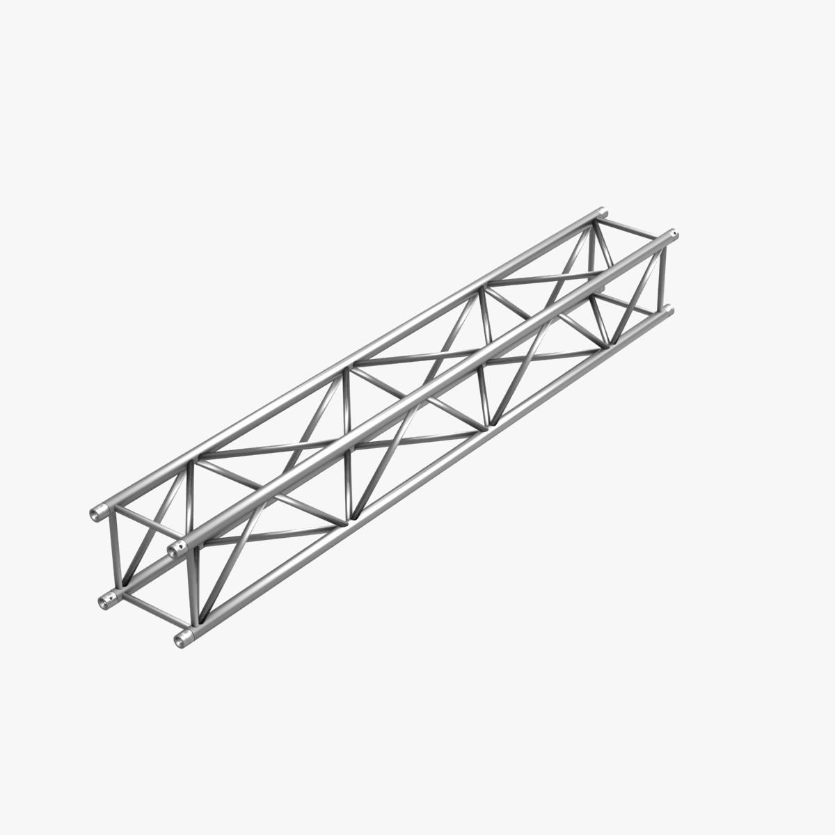 big square truss (collection 10 modular pieces) 3d model 3ds dxf fbx c4d dae  268552