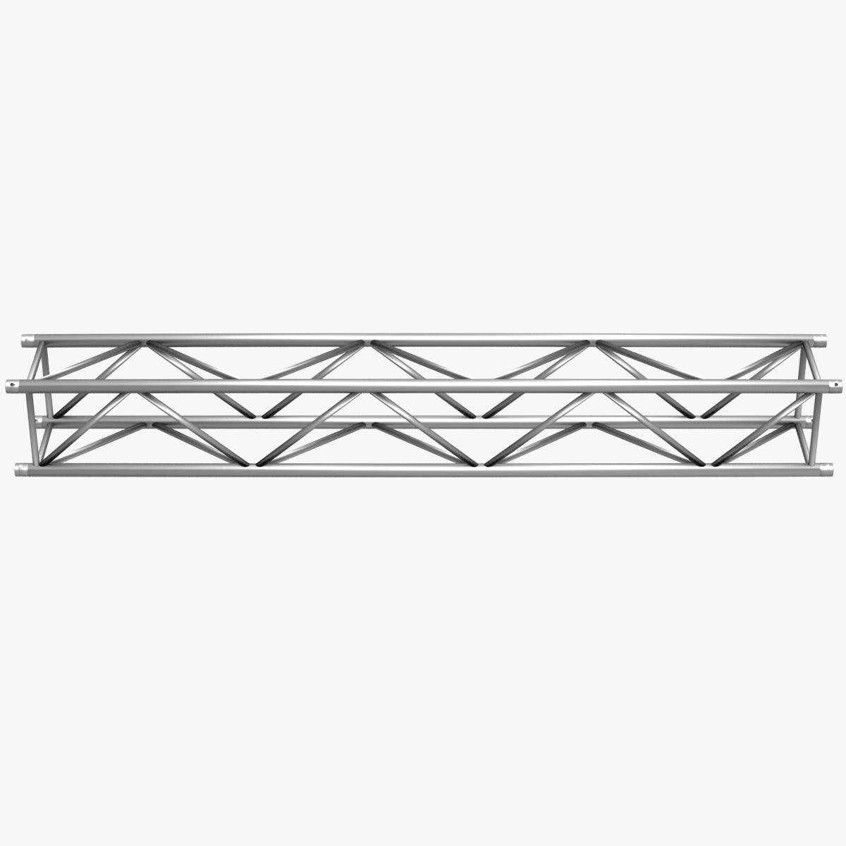 big square truss (collection 10 modular pieces) 3d model 3ds dxf fbx c4d dae  268553