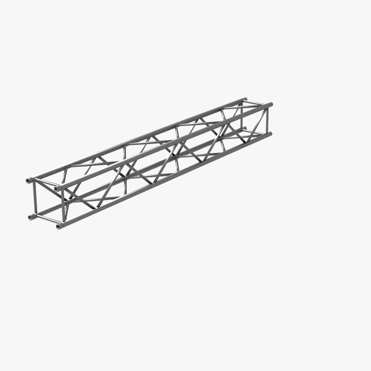 big square truss (collection 10 modular pieces) 3d model 3ds dxf fbx c4d dae  268554