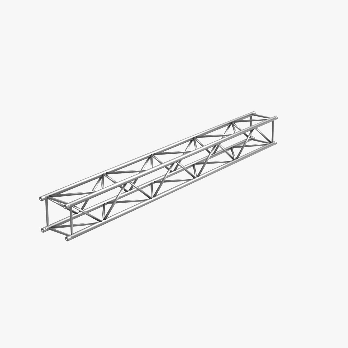 big square truss (collection 10 modular pieces) 3d model 3ds dxf fbx c4d dae  268556