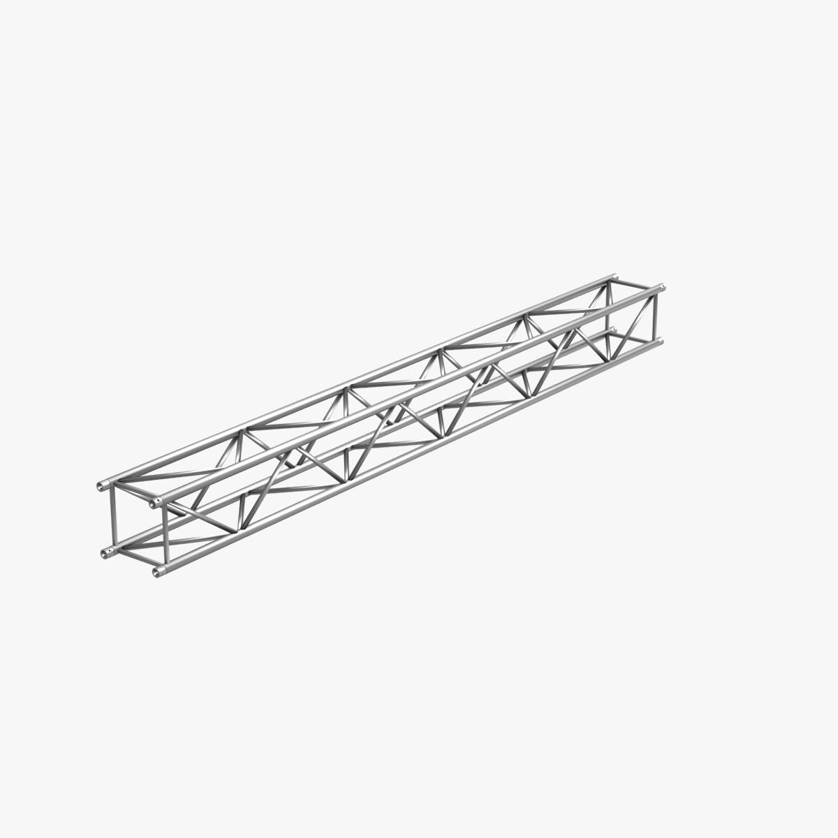 big square truss (collection 10 modular pieces) 3d model 3ds dxf fbx c4d dae  268558