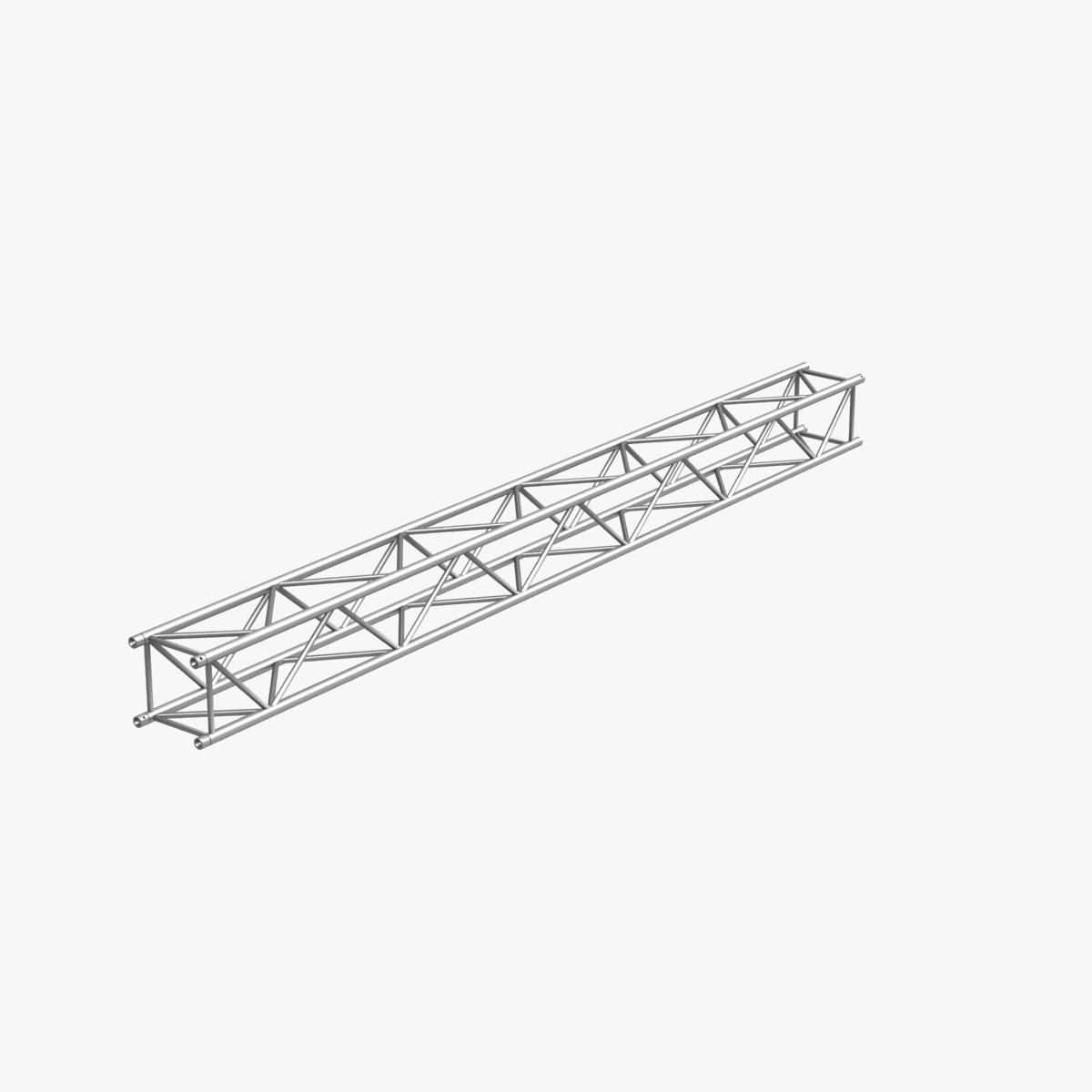 big square truss (collection 10 modular pieces) 3d model 3ds dxf fbx c4d dae  268560