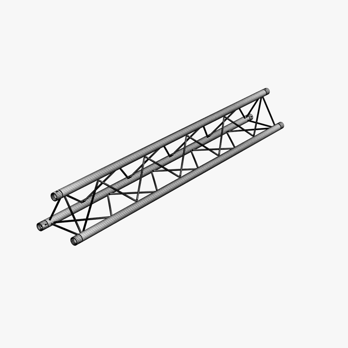 Mini triangular truss collection 14 modular 3d model for Buy truss