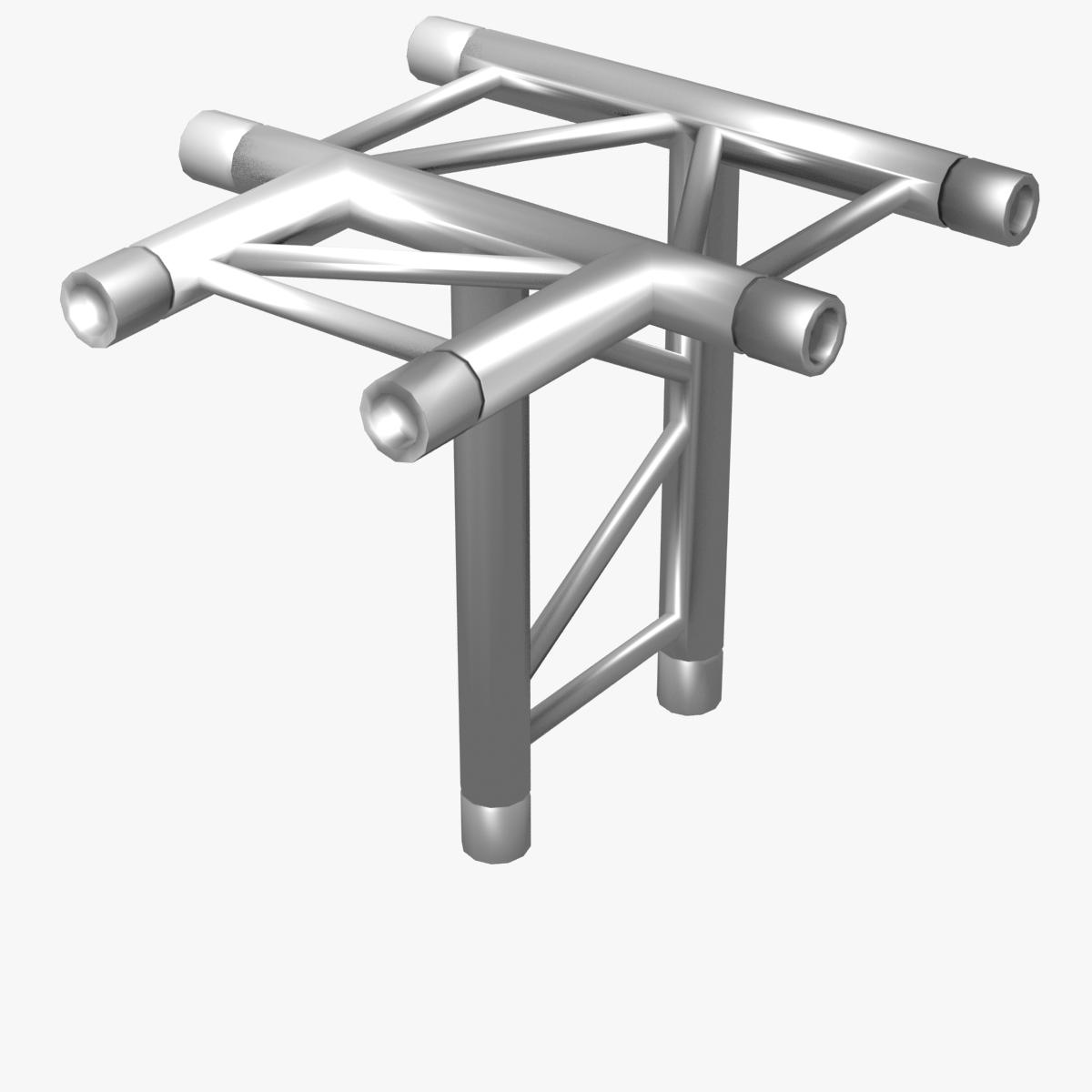 beam trusses (collection 24 modular pieces) 3d model 3ds max dxf fbx bmp blend c4d dae other obj 268741