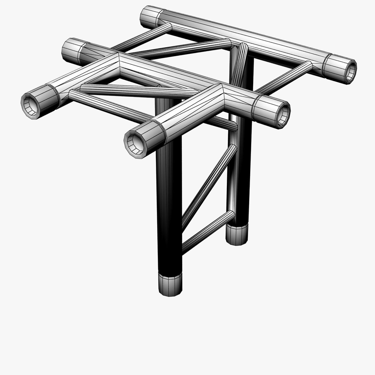 beam trusses (collection 24 modular pieces) 3d model 3ds max dxf fbx bmp blend c4d dae other obj 268742