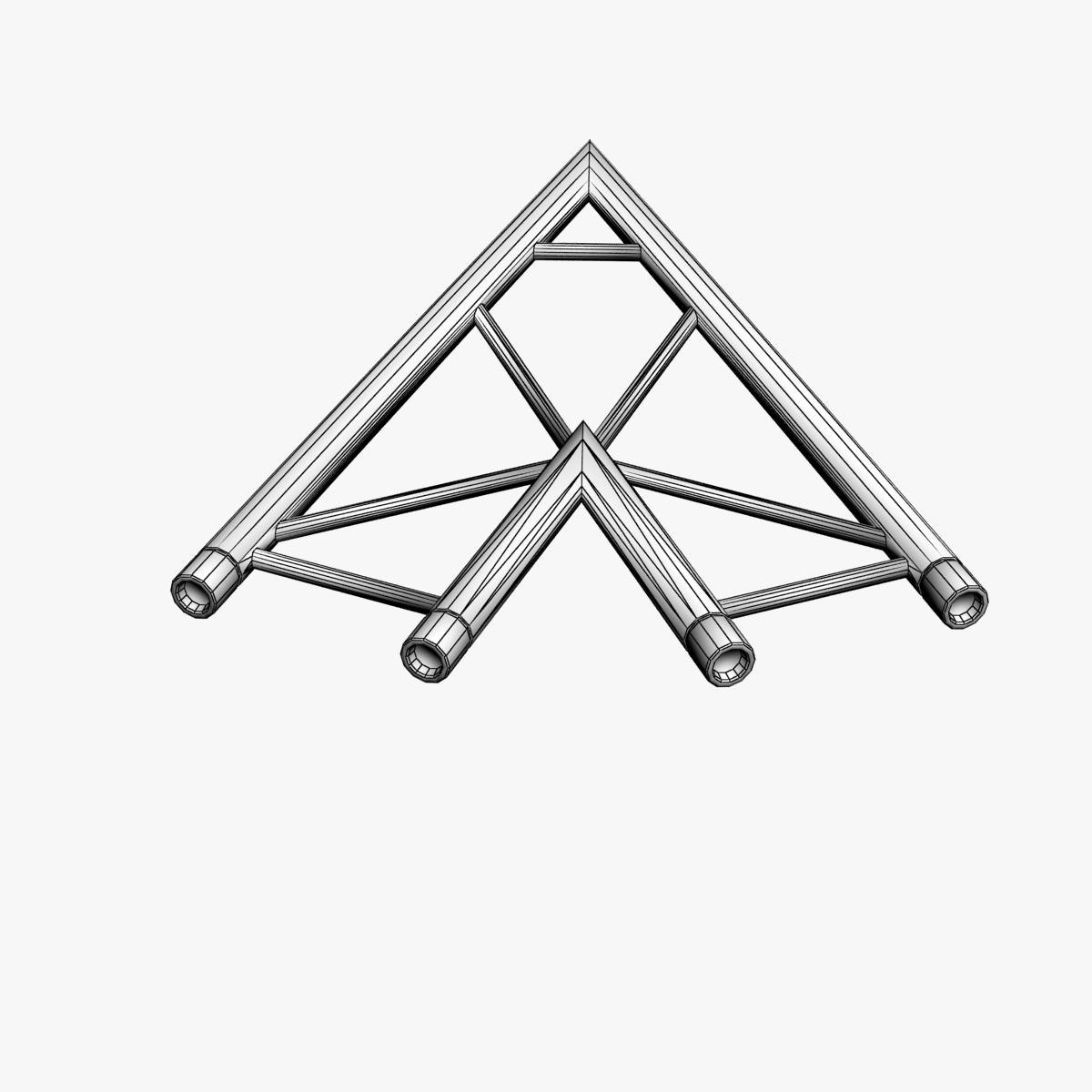 beam trusses (collection 24 modular pieces) 3d model 3ds max dxf fbx bmp blend c4d dae other obj 268748