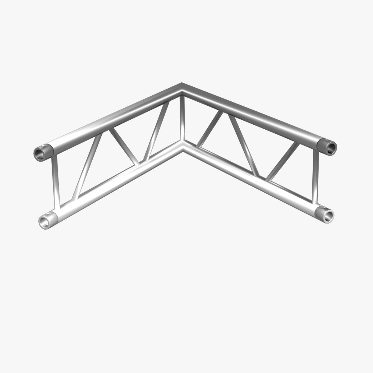 Beam trusses collection 24 modular pieces 3d model buy for Where to buy trusses