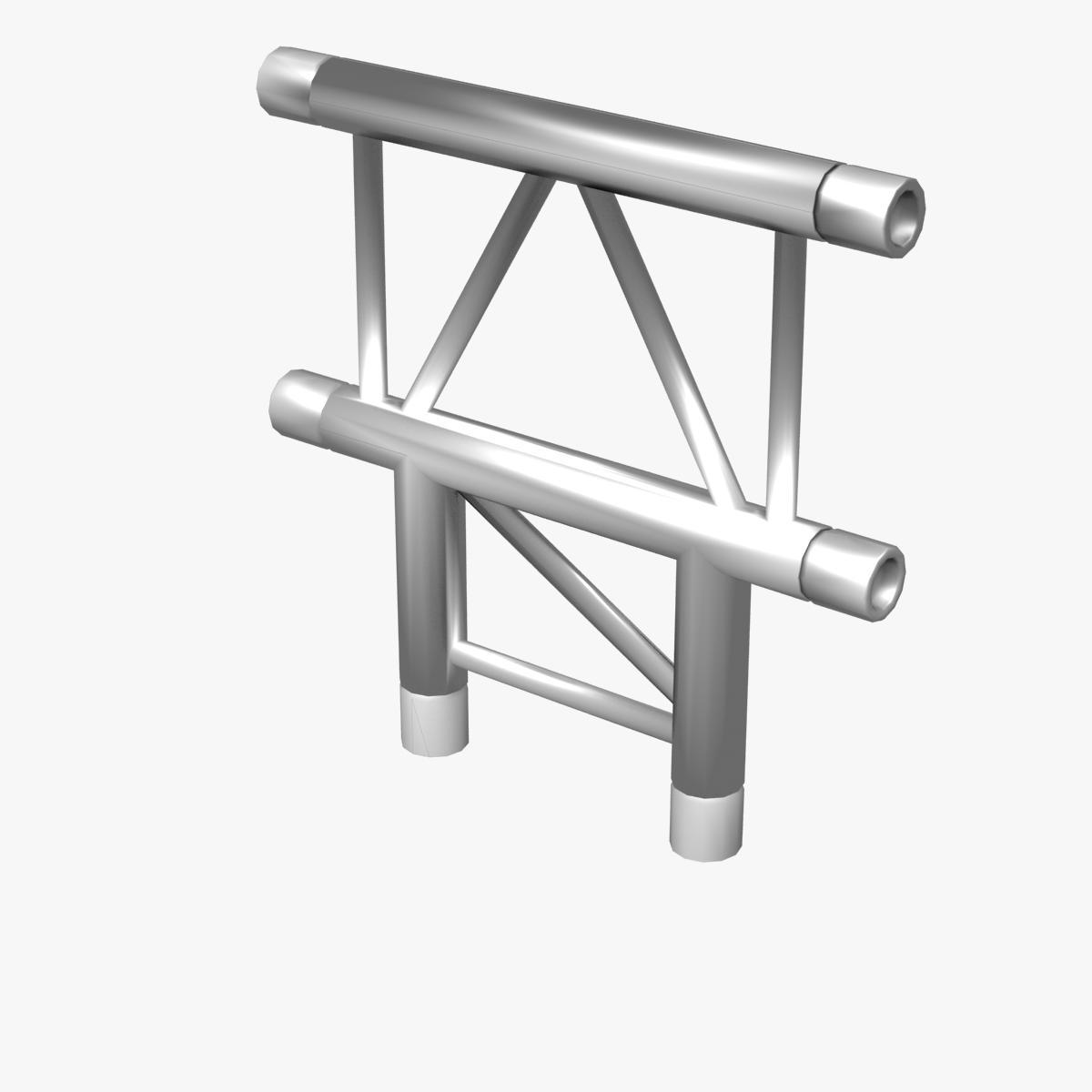 Beam truss cross and t junction 134 3d model buy beam for Buy truss