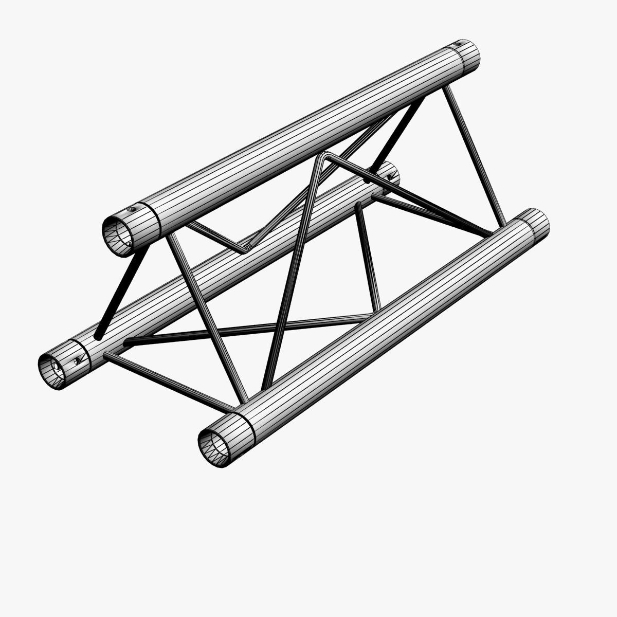 mini triangular truss straight segment 111 3d model 3ds max dxf fbx c4d  obj other 268876