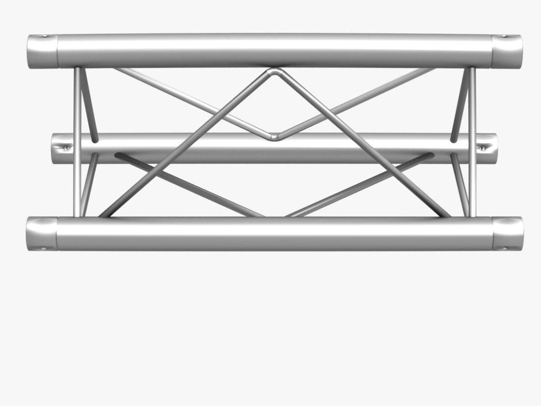 Mini Triangular Truss Straight Segment 111 3d model 0