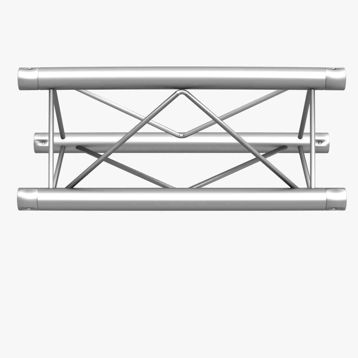 mini triangular truss straight segment 111 3d model 3ds max dxf fbx c4d  obj other 268877