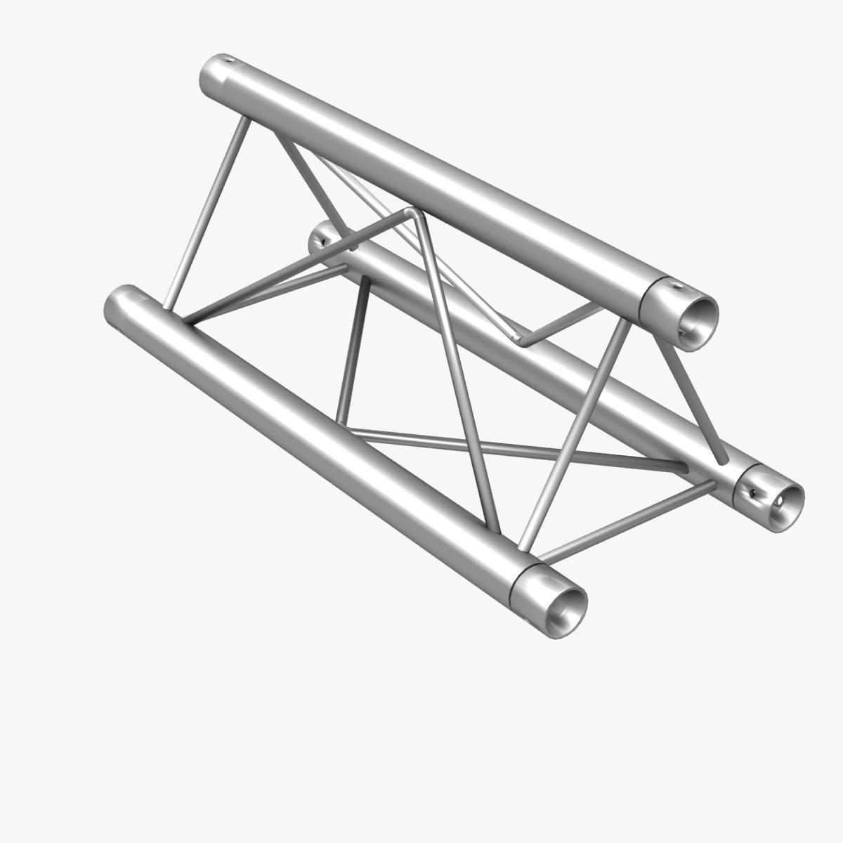 Mini triangular truss straight segment 111 3d model buy for Buy truss