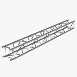 Square Truss Straight Segment 26 3d model 0